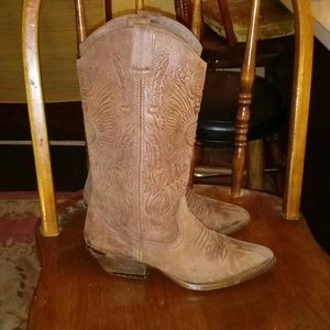 Shoes - Genuine leather cowgirl boots